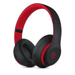 Apple Beats Studio3 Wireless Over-Ear Headphones - The Beats Decade Collection - Defiant Black-Red