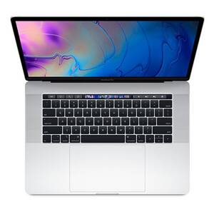 "MacBook Pro 15,4"" Touch Bar (2019) Retina Display Intel Core i7 2.6GHz 6-Core 16GB RAM 256GB - Silver"
